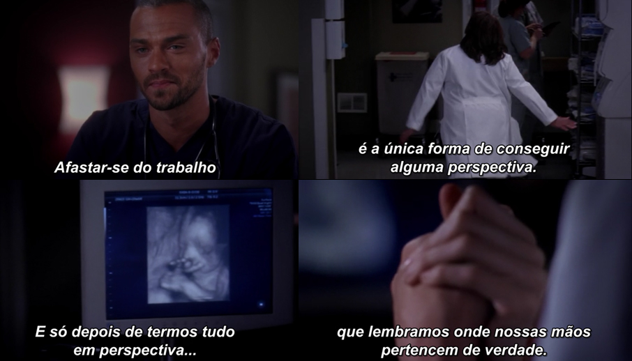 greys anatomy - perspectiva
